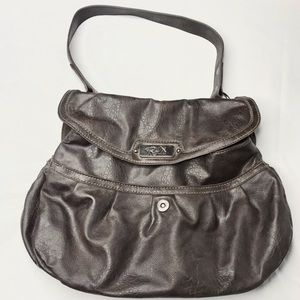 Relic brown leather purse